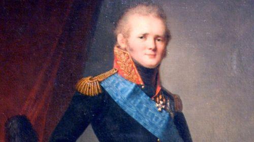 Александр I в 1812 году
