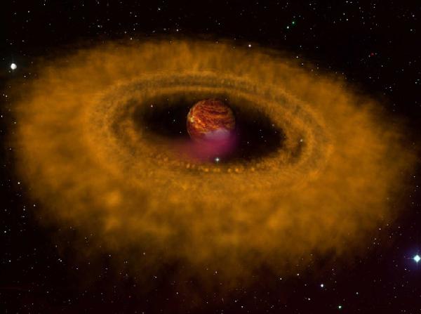 «Планеты-сироты» могут формироваться подобно звездам