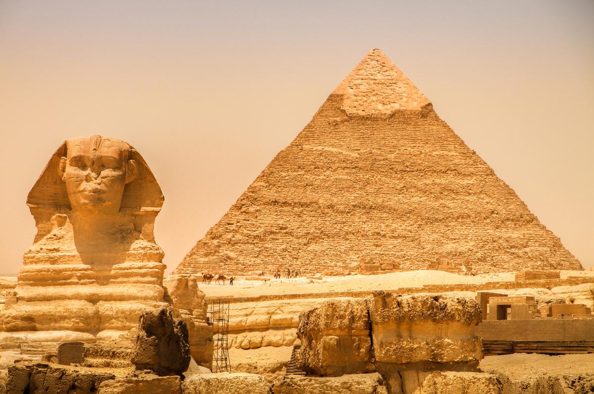 Тайны пирамиды Хеопса