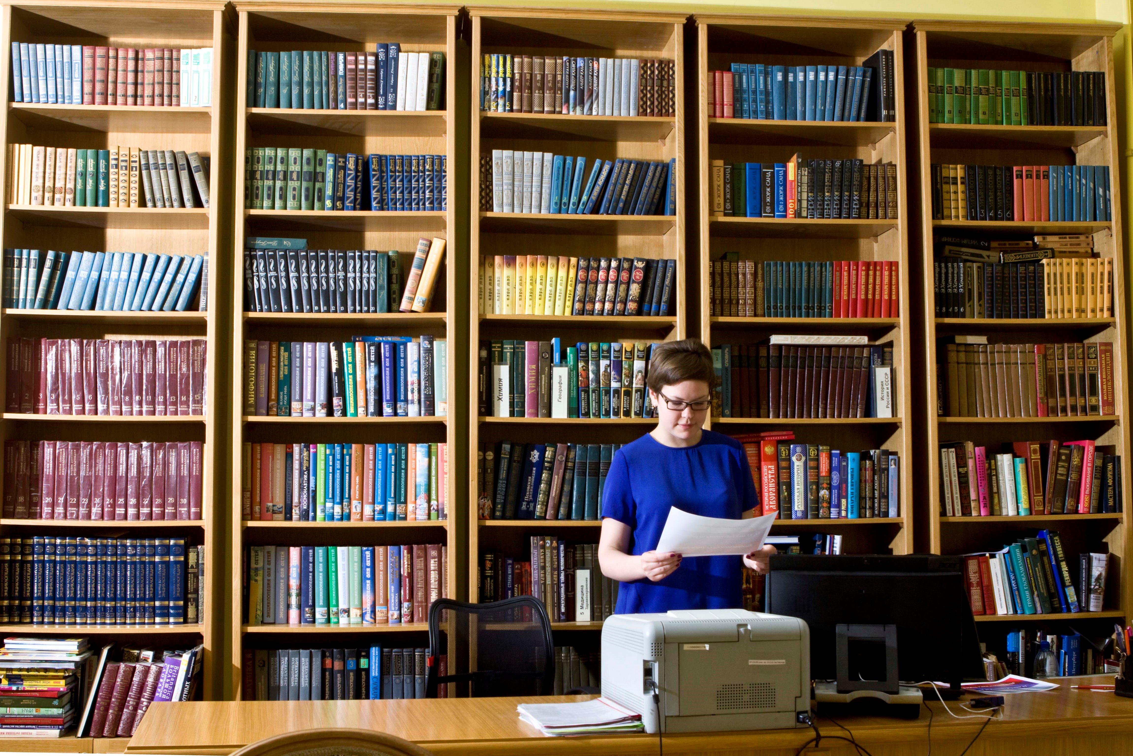 «БиблиоРодина» — проект в поддержку российских библиотек