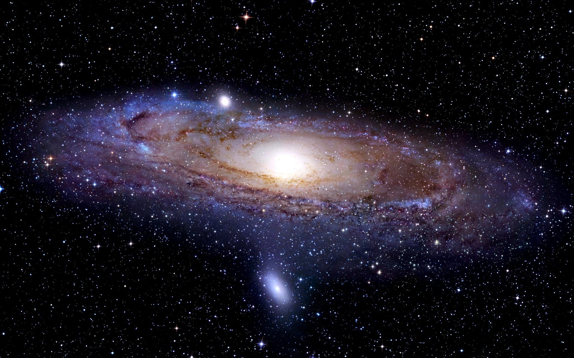 Обнаружен диск из карликовых галактик вокруг Туманности Андромеды