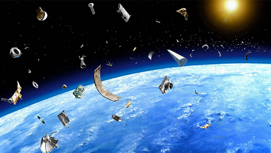 О космическом мусоре и астероидах